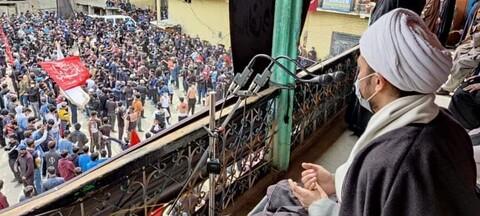 کرگل میں حضرت علی (ع) کا یوم شہادت عقیدت و احترام کیساتھ منایا گیا