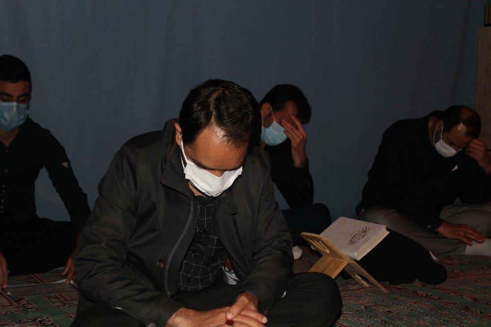 تصاویر/ برگزاری مراسم احیای سومین شب قدر در کردستان
