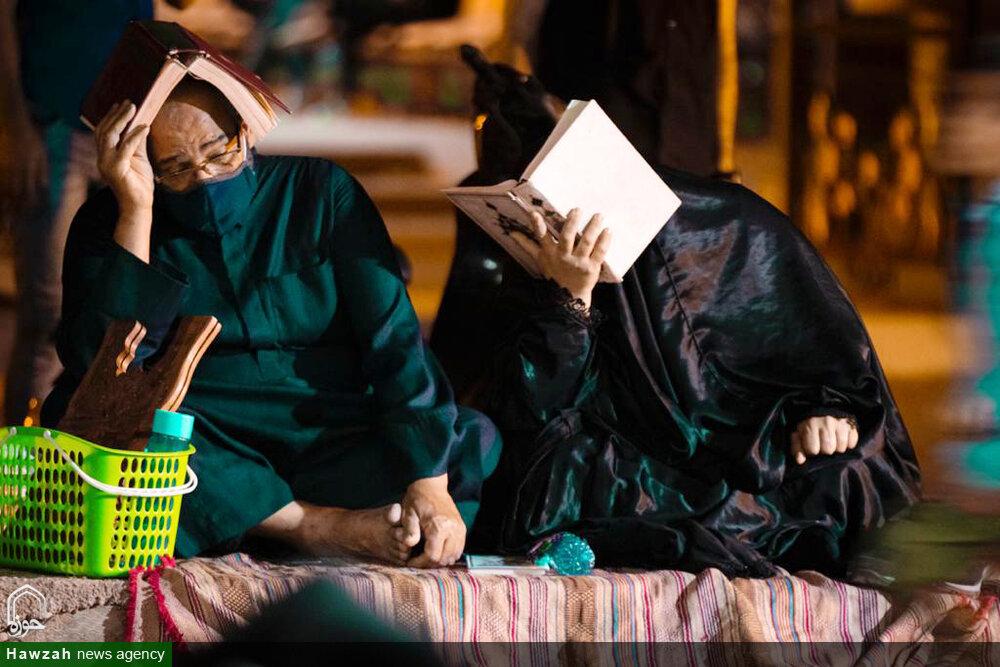 مساجد و هیئات اهواز احیای لیالی قدر را متفاوتتر از همیشه برگزار کردند