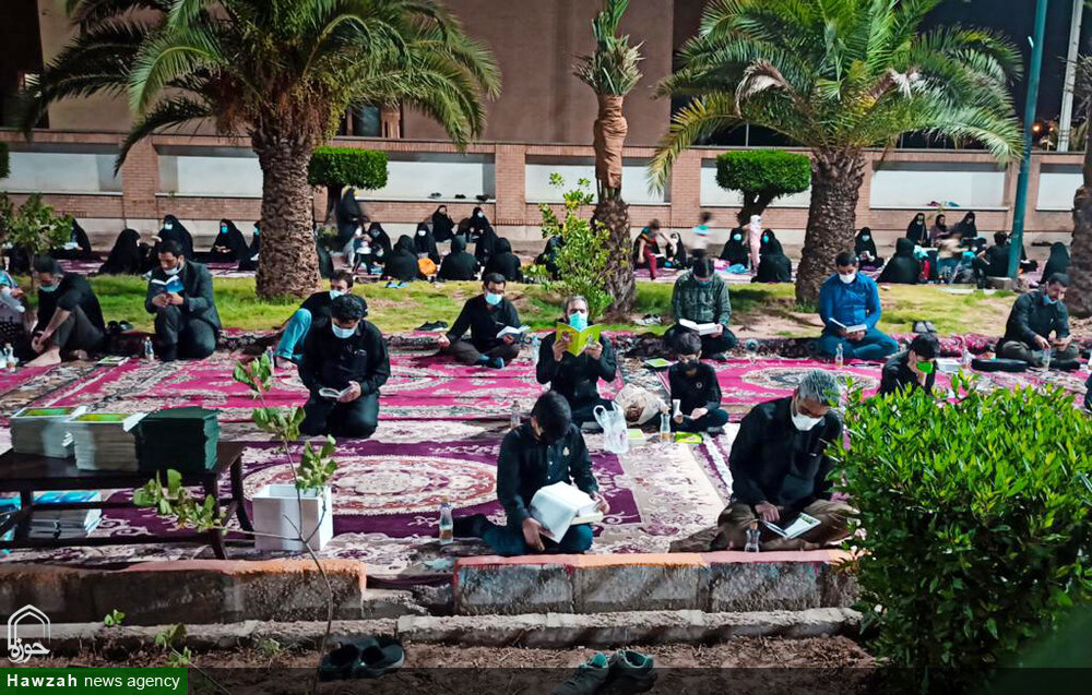 تصاویر/ مراسم احیای شب بیست و سوم ماه رمضان در اهواز