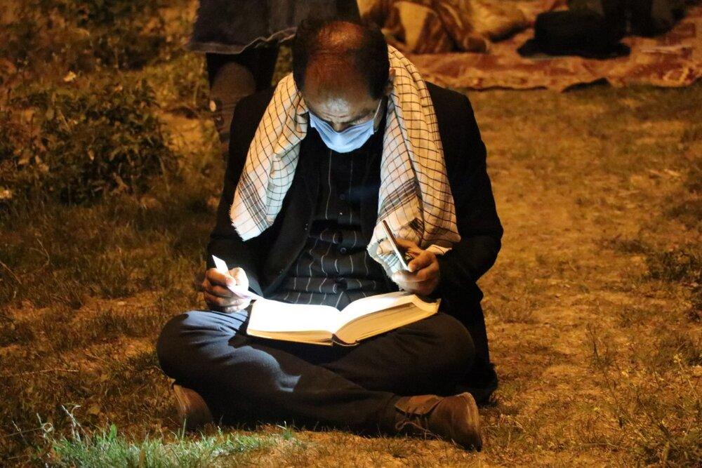 تصاویر/ نجوای الغوث الغوث در سومین شب قدر در شیراز