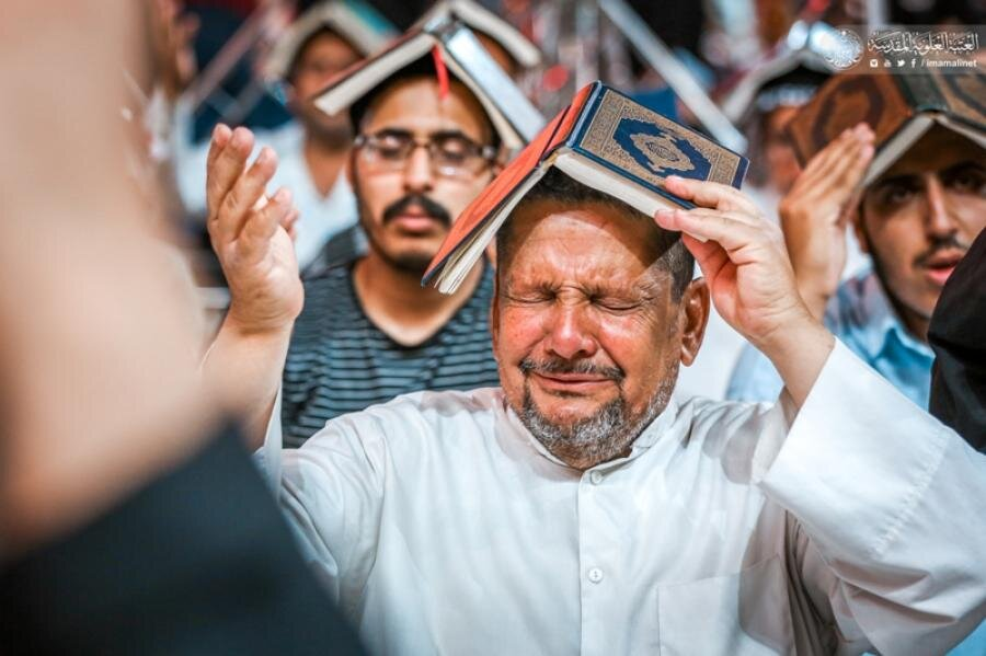 تصاویر/ احیای سومین شب قدر در حرم حضرت امیرالمومنین (علیه السلام)
