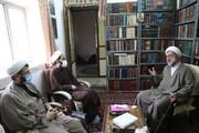 تصاویر / دیدار معاون امور مدارس حوزه علمیه قم با اساتید حوزه