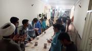 تصاویر | پخت و توزیع افطاری توسط مدرسه علمیه امام حسین(ع) همدان
