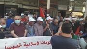 راهپیمایی روز قدس در شمال لبنان برگزار شد