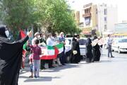 تصویر/ به آتش کشیده شدن پرچم اسراییل در روز قدس