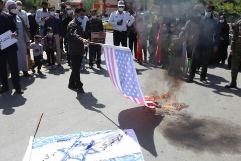تصاویر/ مراسم  راهپیمایی نمادین روز قدس در اصفهان