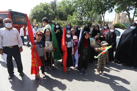 تصاویر/ مراسم  نمادین روز قدس اصفهان