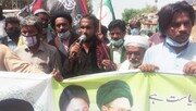 اصغريہ آرگنائيزيشن پاکستان دادو کی جانب سے اسرائیل کے خلاف احتجاجی ریلی
