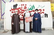 فیلم| ابتکار جالب هنرمندان هیئتی دارالعباده یزد در روز قدس