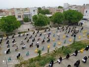 تصاویر/ مراسم روز جهانی قدس در مدرسه علمیه قروه