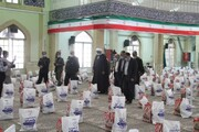 افتتاح پویش احسان رمضان به همت ستاد اجرایی حضرت امام(ره) در همدان