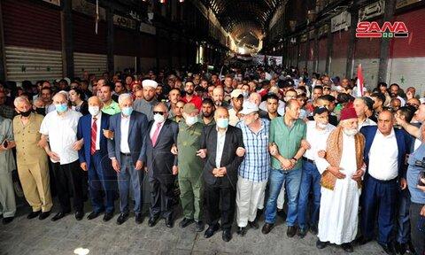 راهپیمایی روز قدس سوریه