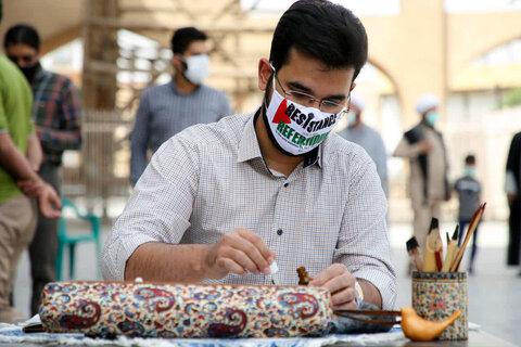 تصاویر| روز قدس متفاوت در یزد