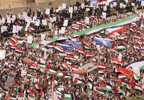 راهپیمایی میلیونی روز جهانی قدس در استان های یمن