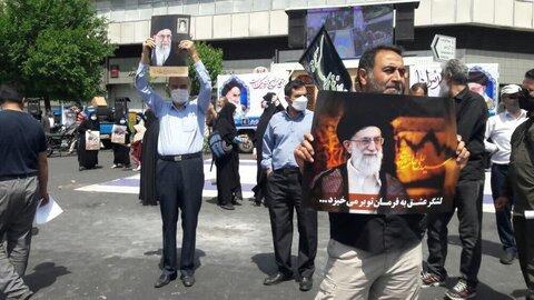 بالصور/ الاحتفاء بيوم القدس العالمي في مختلف مدن إيران 2021 م.