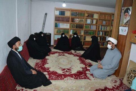 دیدار خانم امیدی با نماینده مردم ملایر در محلس شورای اسلامی