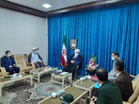تصاویر/ جلسه شورای فرهنگ عمومی کاشان با حضورآیت الله سلیمانی