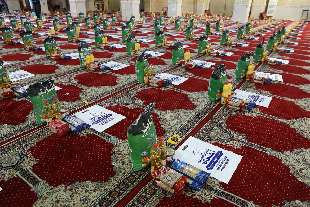 توزیع ۸ هزار بسته معیشتی در «احسان رمضان» قزوین