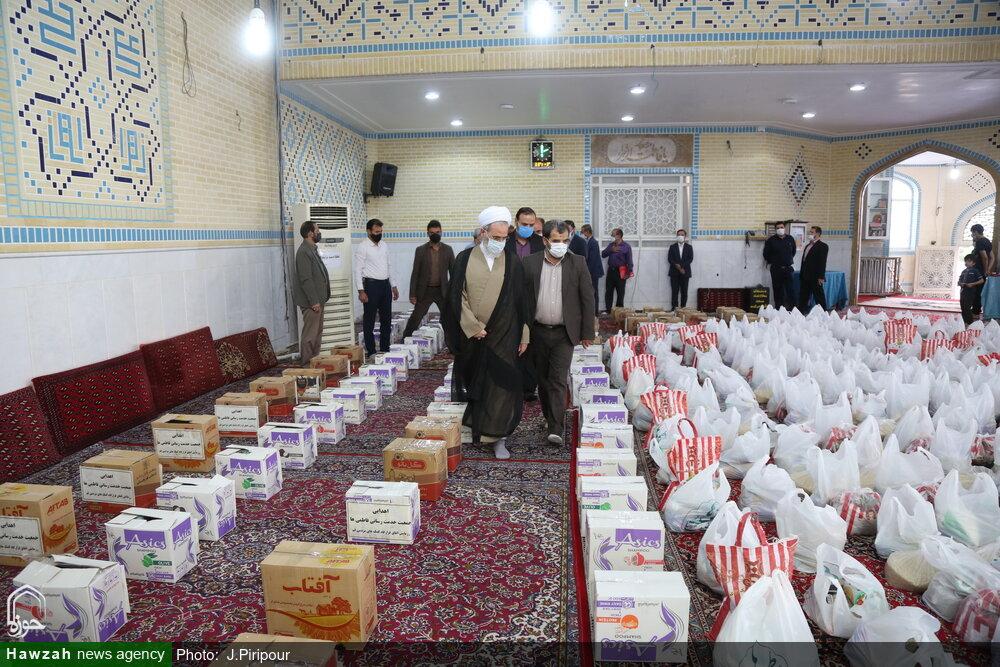توزیع هزار بسته معیشتی بین نیازمندان توسط جمعیت امام علی در قم