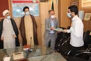 تصاویر/ تقدیر از سرباز طلبههای موفق آموزش و پرورش یزد