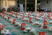 توزیع ۶۰ بسته معیشتی بین نیازمندان لرستانی