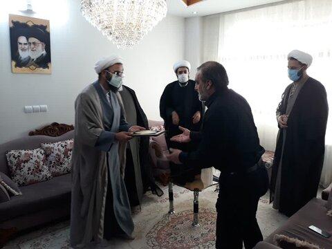 حجت الاسلام والمسلمین رحیمی صادق/ دیدار طلبه جهادی