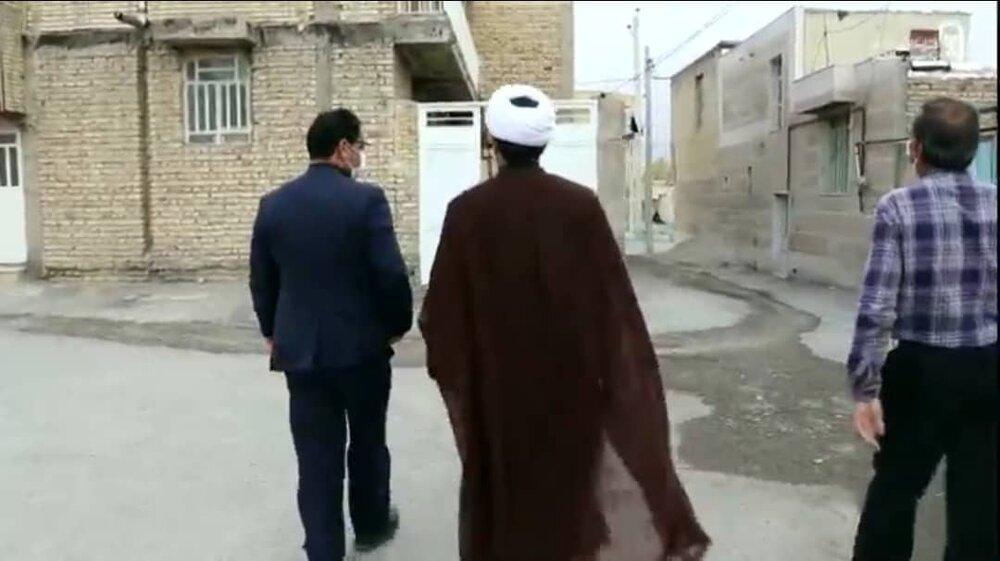 فیلم | حضور امام جمعه صفاشهر در محفل خانگی قرائت قرآن