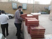 تصاویر/ توزیع افطاری بین نیازمندان یزدی