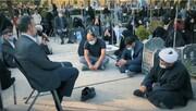 فیلم |  روضه خوانی محمود کریمی در جمع خانواده شهدای افغانستانی