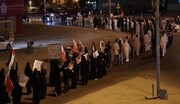 البحرينيون يتضامنون مع الشعب الفلسطيني