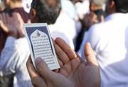 برگزاری نماز عید فطر در فضای باز مصلای امام خمینی (ره) تبریز