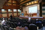 تصاویر / نشست انتخاباتی قرارگاه حوزوی انقلاب اسلامی در مدرسه علمیه معصومیه