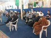 تصاویر / گردهمایی طلاب و روحانیون نوش آباد