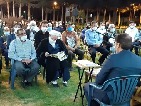 تصاویر/ بزرگداشت شهدای دانش آموز غرب کابل درکاشان با حضورآیت الله  سلیمان