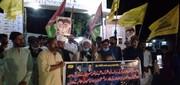 ٹھٹھہ؛ فلسطین اور افغانستان میں مسلمانوں پر حملہ کے خلاف احتجاجی مظاہرہ