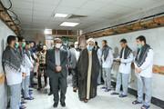 امام جمعه قزوین با زندانیان معتکف دیدار کرد
