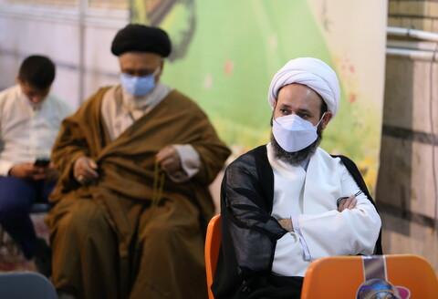 تصاویر/ گرامیداشت دختران شهیده مکتب سید الشهدا کابل در مدرسه حجتیه قم