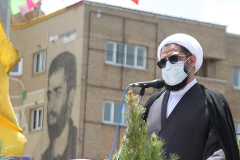 محکومیت اقدامات تروریستی در فلسطین و افعانستان توسط مردم همدان