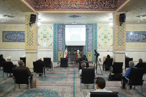 تصاویر/ تجلیل از بازنشستگان مرکز مدیریت حوزه با حضور آیت الله اعرافی