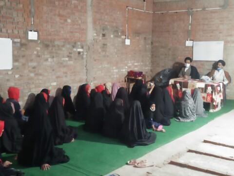 مدرسہ جامعہ الزہرا کی جانب سے طالبات کے دینی کلاسیز اور تقسیم انعامات