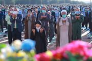 فیلم | نماز عید سعید فطر در مصلای المهدی بیرجند