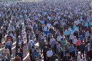 تصاویر/ اقامه نماز عید سعید فطر در بیرجند