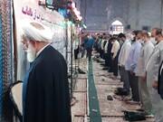 نماز عید فطر در کاشان برگزار شد