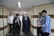 تصاویر/ بازدید و خدا قوت مدیر حوزه علمیه خوزستان از دستاندرکاران برنامه تلویزیونی «روشناییهای شهر»