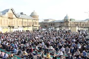 تصاویر | اقامه نماز عید سعید فطر در همدان