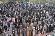 تصاویر/ اقامه نماز عید سعید فطر در شهرکرد