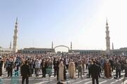 تصاویر/ اقامه نماز عید سعید فطر در مسجد مقدس جمکران