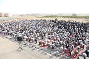تصاویر/ اقامه نماز عید سعید فطر در شهرک پردیسان