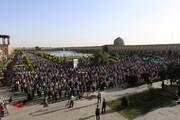 تصاویر/ اقامه نماز عید سعید فطر در اصفهان